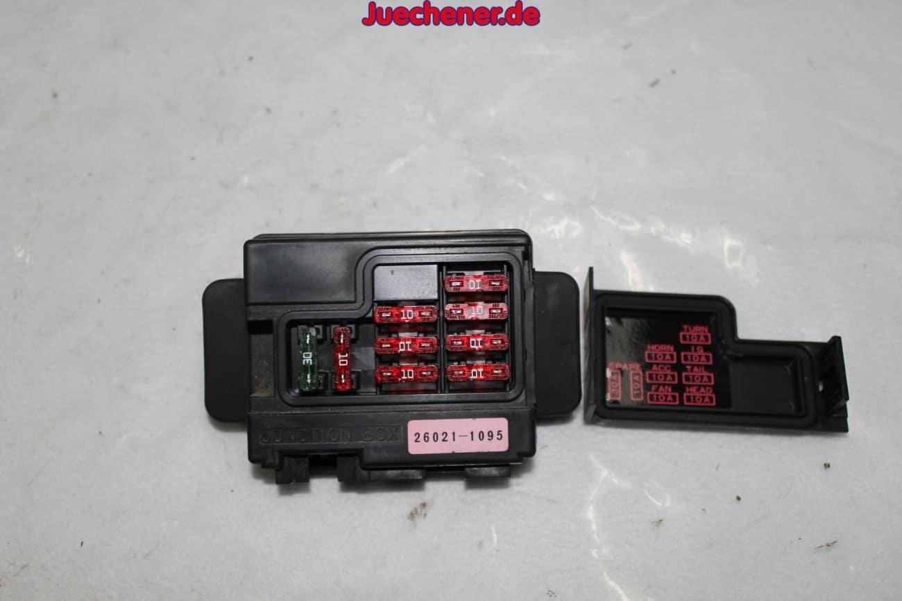 Kawasaki Zx6r Zx600j Ninja Baujahr 2002 Sicherungskasten Fusebox Fuse Box Junctionbox