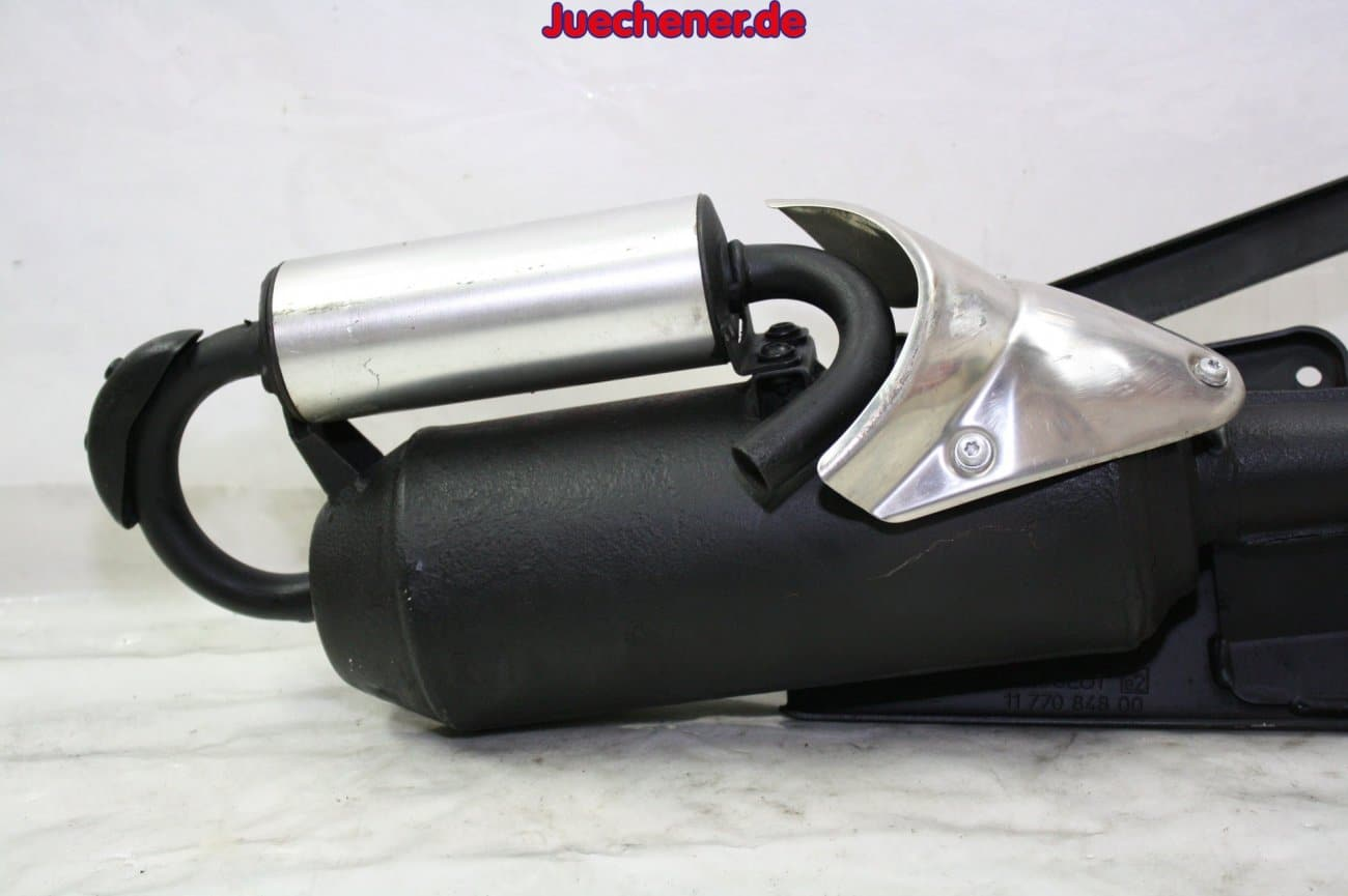 peugeot jet force 50 c tech auspuff exhaust motorstop