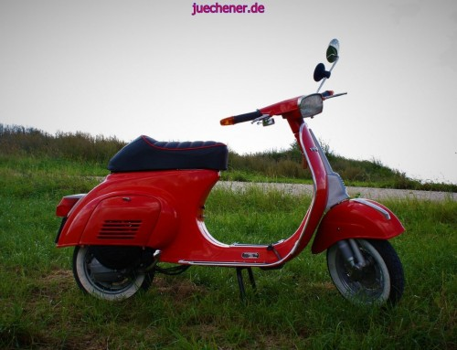 Vespa V50 Spezial Totalrestauration und Tuning