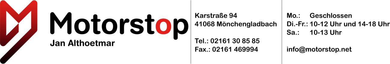 Motorstop Logotipo da Jan Althoetmar