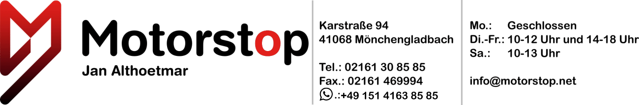 Motorstop Jan Althoetmar logotips
