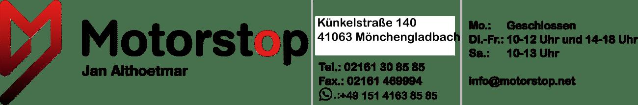 Motorstop Jan Althoetmar Logo